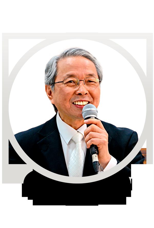 Foto de perfil do Preletor Fumio Nishiyama (Presidente Doutrinário da Seicho-No-Ie para a América Latina) sorrindo