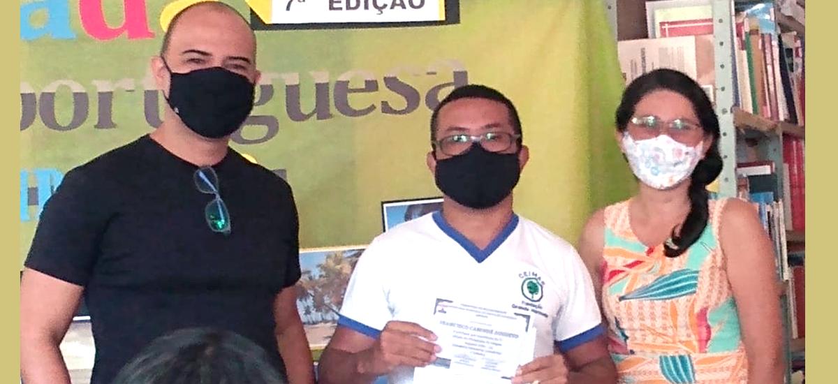 Professor do Ceimar é Escolhido para Representar Maxaranguape, RN na 7ª Olimpíada de Língua Portuguesa